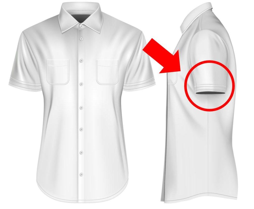 半袖シャツがダサい理由